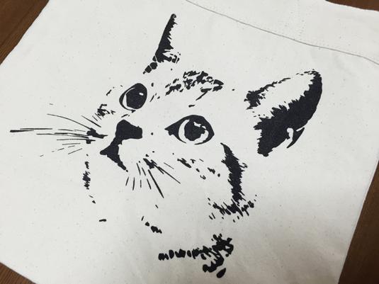 ネコ トートバック デザイン